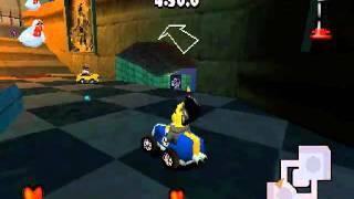 Muppet Race Mania - Trafalgar Square - Boss Challenge - Beauregaard