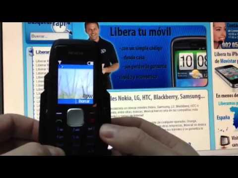 Liberar Nokia 1800, desbloquear Nokia 1800 de Vodafone Movical Net