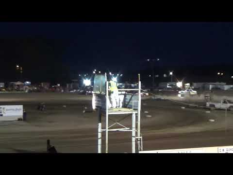 Street Stock B-Feature at Mt. Pleasant Speedway, Michigan on 07-12-2019!