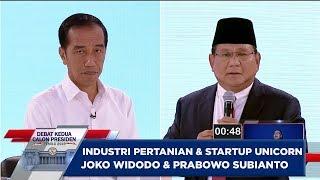 Pendapat JOKO WIDODO & PRABOWO SUBIANTO Tentang Pertanian dan Start...