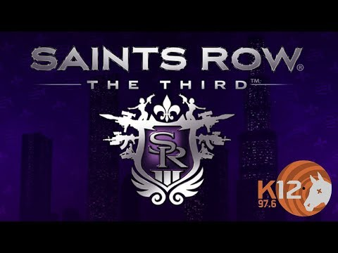 97.6 K12 Radio Station from Saints Row: The Third COMPLETE with Jingles, Commercials and DJ Comments