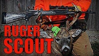 Ruger Gunsite Scout - First Kill