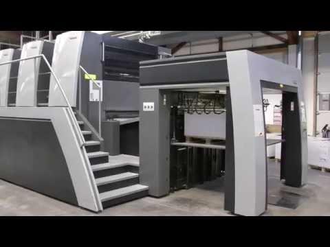 Heidelberg XL 145-4 used printing machine for sale