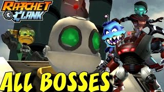 Ratchet and Clank 2: Going Commando - All Bosses (1080p/60fps)