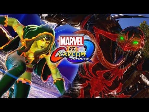 HOT GAMORA VS. ANTI-VENOM: Marvel Vs. Capcom Infinite (Online Matches)