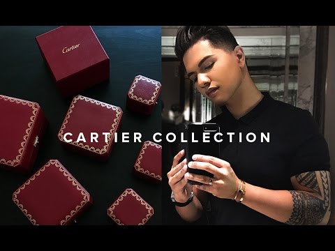 MY CARTIER COLLECTION!! (2017) | LOVE BRACELET, JUSTE UN CLOU, ETC.