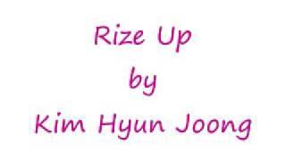 Kim Hyun Joong -  Rise Up