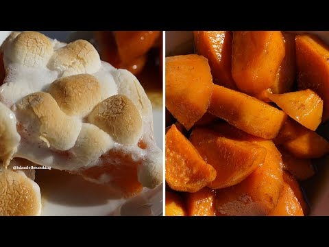 The Best Candied Yams Recipe Ever - How To Make Candied Yams  (2 Easy Way)