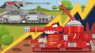 Битва стальных МОНСТРОВ Мультики про танки