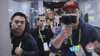 苏宁展区体验:DiuOS智能家居解决方案,还有AR虚拟试衣黑科技   CES2019