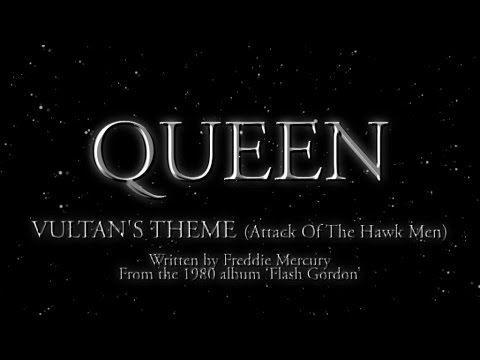 Queen - Vultan's Theme (Attack Of The Hawk Men) (Official Montage Video)