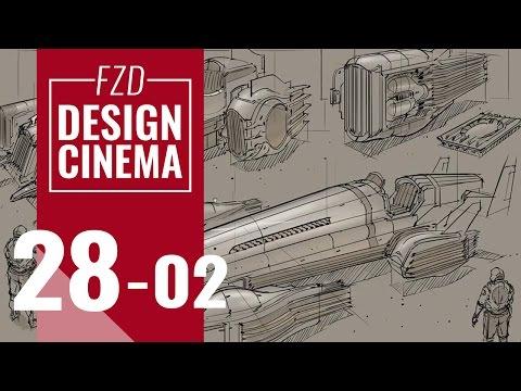 Design Cinema – EP 28 - Vehicle Sketching Part 02
