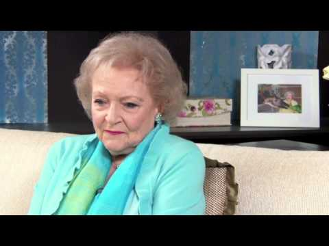 Steve shares some laughs with Hollywood's Golden Girl Betty White!