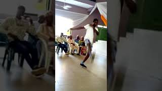 Gee-swag unsigned upcoming artist Nigeria performance of FOSSU Alhikmah university chapter