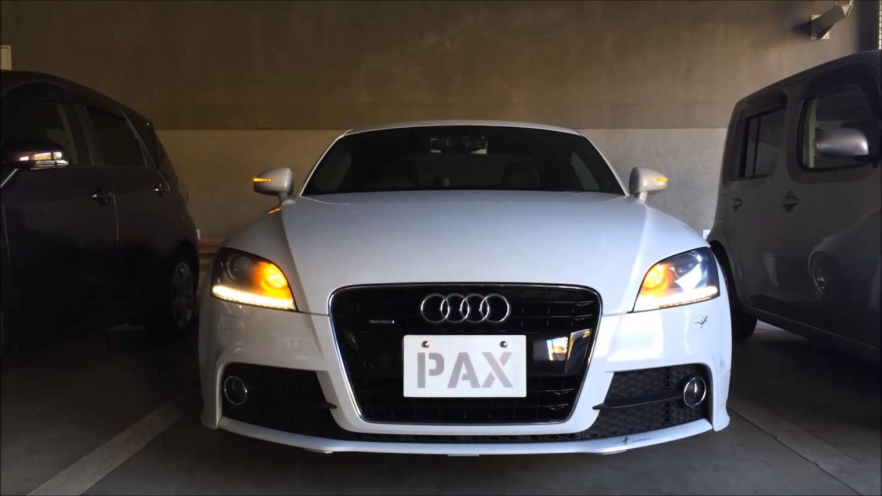 led turn signals for audi tt 8j youtube. Black Bedroom Furniture Sets. Home Design Ideas