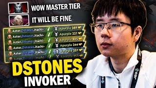 THIS IS HOW MASTER TIER INVOKER DSTONES LANE WITH QOP MID | EPIC 20 KILLS GAME - DOTA 2 INVOKER