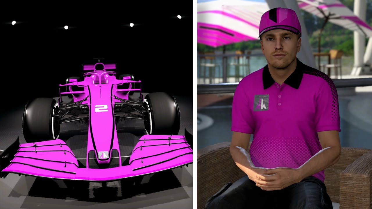 KNEUS SPEELT F1 2021 MY TEAM