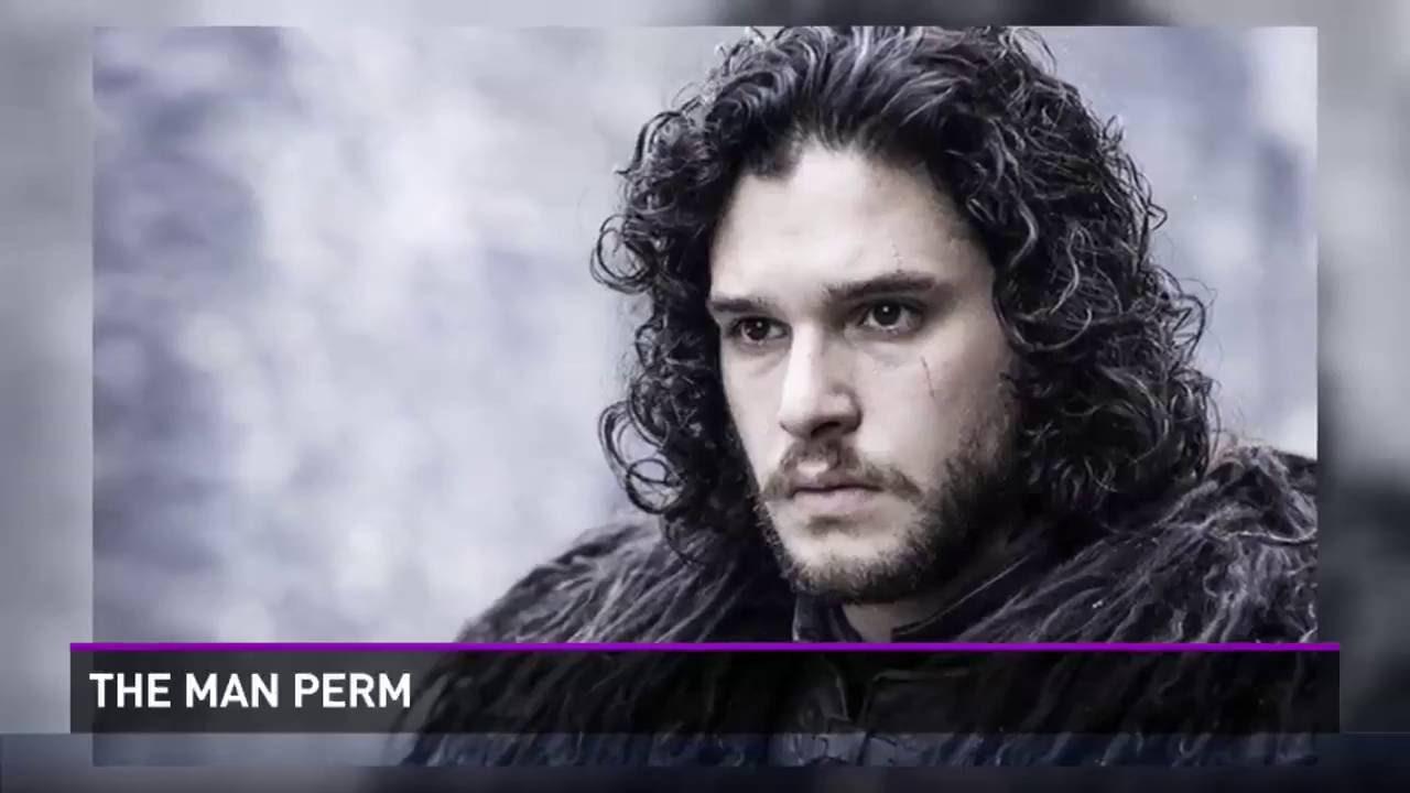Newest Hair Trend The Man Perm