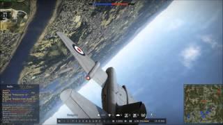 War Thunder - Canberra B (i) Mk. VI Dogfighting Montage