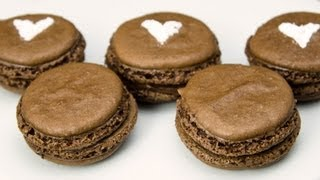 Chocolate Macarons With A Nutella Filling: Cookies Cupcakes And Cardio Recipe