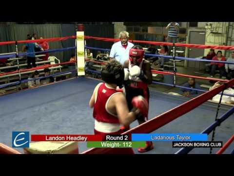 Jackson, Tn Boxing 25MAR2016 L Headley vs L Taylor
