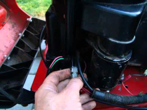 snapper rider wiring explained sorta youtube rh youtube com Ford Wiring Harness Kits snapper mower wiring harness