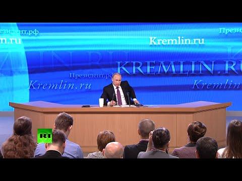 La conférence de presse annuelle du président Poutine en intégralité
