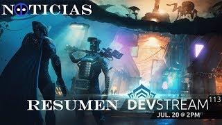 Noticias Warframe - Devstream 113: Resumen - Venus - Fortuna...