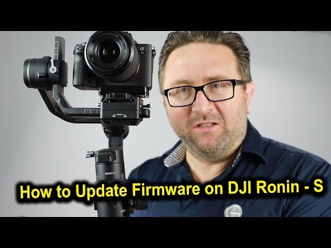 How To Update Ronin S Firmware Step By Step