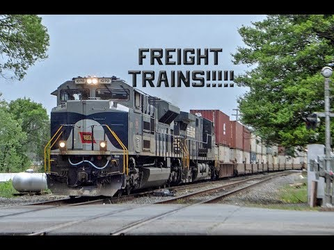 Freight Time: Plenty of Freights Trains in Virginia and West Virginia!
