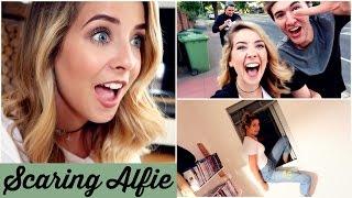SCARING ALFIE