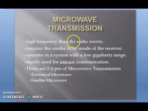 4 Unbounded Transmission media