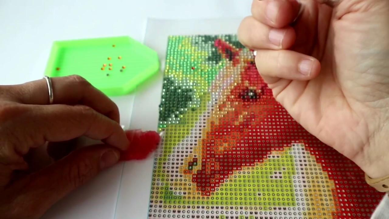 Diamond Painting Van De Action Youtube