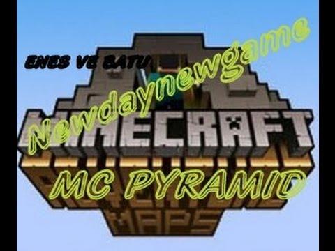 Türkçe Minecraft - Adventure Map(MC Pyramid)-Adıma Dikkat