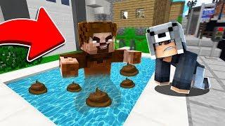 FAKİR HAVUZA KAKASINI YAPTI 😱 - Minecraft