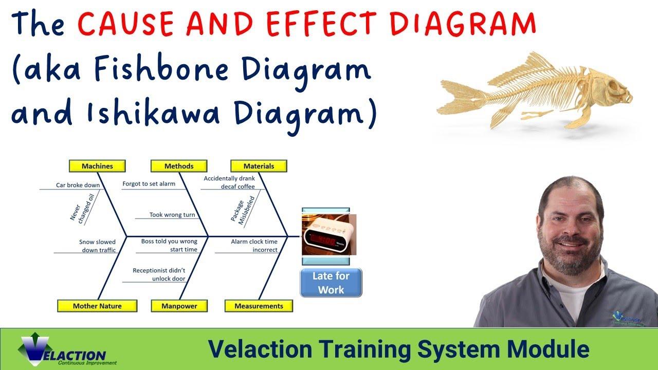 Cause And Effect Diagram Training Video Aka Fishbone Diagram Ishikawa Diagram Youtube