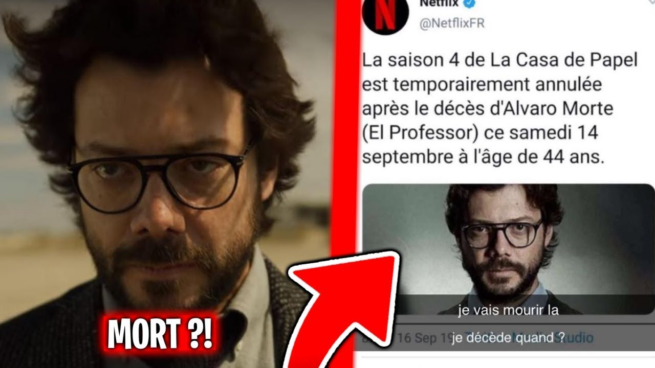 ÁLVARO MORTE M0RT ?! CASA DE PAPEL ANNULER ?! ( ZAP'ACTU # 144 )