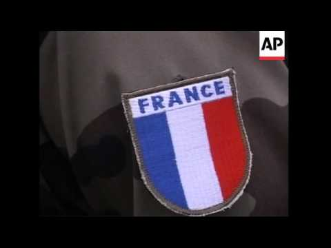 French defence minister visiting French troops near Israeli border