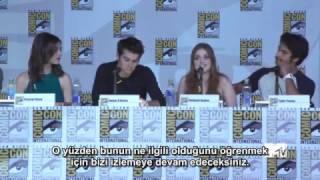 Dylan OBrienı Öpmek Nasıl Bir Şey? Comic Con13 TR Altyazılı