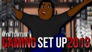 GAMING SET UP O GAMING ROOM 2013 X MYM TUM TUM
