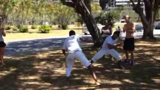 Free Capoeira Classes @ Caminhos in Ipanema Rio de Janeiro
