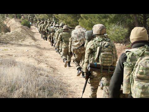 Syria: Turkey steps