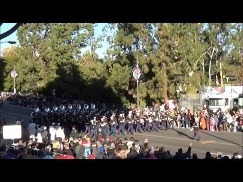 US Marine Band at the 2016 Tournament of Roses Parade