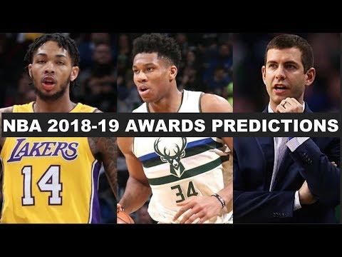 2018-19 NBA Awards Predictions
