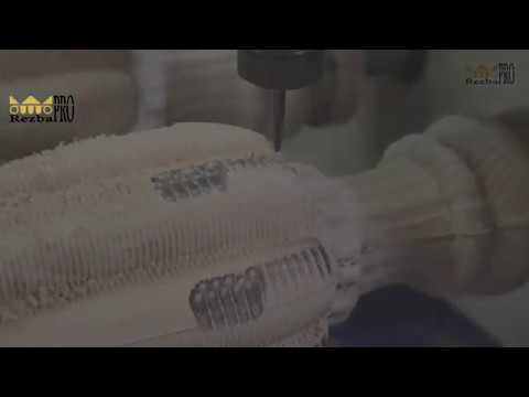 Ножки мебельные. Производство резного декора на токарных, обрабатывающих центрах с ЧПУ