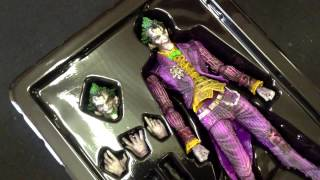 Обзор и распаковка фигурок Play Arts (Batman, Joker, Robin, Catwoman) [by Кисимяка]