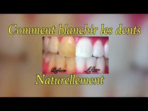 comment blanchir les dents naturellement youtube. Black Bedroom Furniture Sets. Home Design Ideas