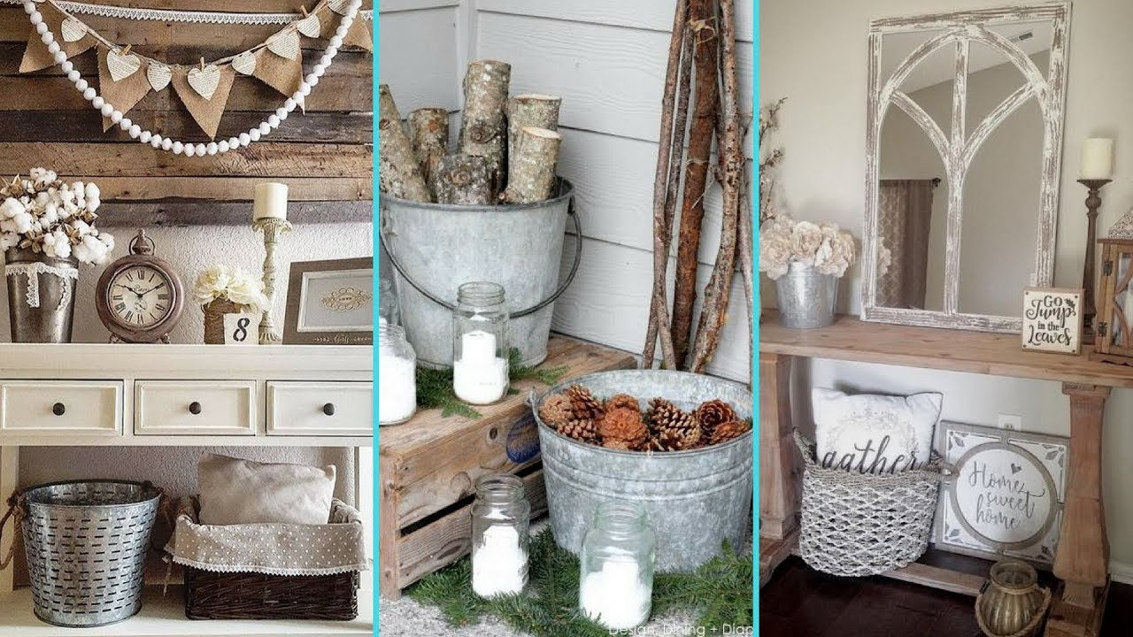 Diy Shabby Chic Style Galvanized Tub Bucket Decor Ideas Home Decor Ideas Flamingo Mango