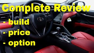 2018 Toyota Camry XSE V6 Build & Price Review (5 of 5 Best Cars for Driving with Uber or Lyft )