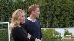Tour Jessica Capshaw and Christopher Gavigan's New Backyard by ForeverLawn
